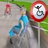 3D инвалидна количка състезания игра