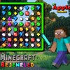Minecraft Bejeweled игра