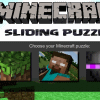 Minecraft плъзгащи пъзел игра