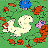 Owl and friends coloring игра